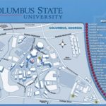 Maps   Columbus State University   Columbus, Georgia Throughout Columbus State Campus Map