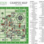 Maps, Contacts And Info   Stetson Campus Map Resources For Stetson Intended For Daytona State College Deland Campus Map