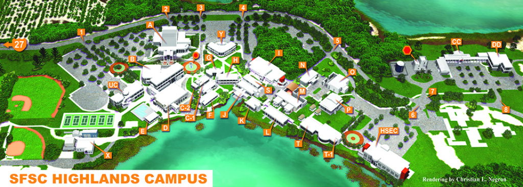 Maps & Directions - South Florida State College for Florida State Colleges Map