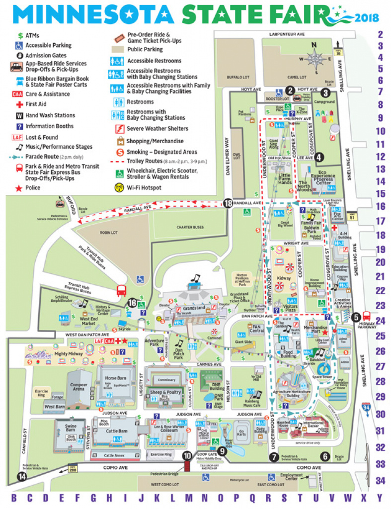Maps | Minnesota State Fair regarding Wisconsin State Fair Grounds Map
