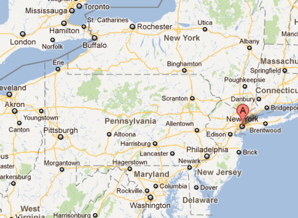 Maps New York – Whygo with Road Map Of New York State And Pennsylvania