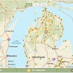 Maps Of Michigan State Parks County Michigan State Parks Map Pdf Within Michigan State Park Campgrounds Map