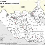 Maps Of South Sudan | Erininjuba Regarding Map Of South Sudan States And Counties