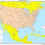 Maps Of The United States Inside Map Usa States Major Cities