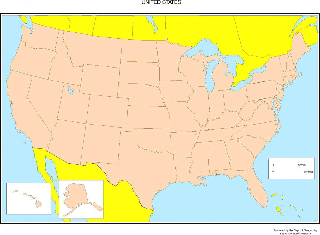 Maps Of The United States pertaining to Us Map With States Labeled And Capitals