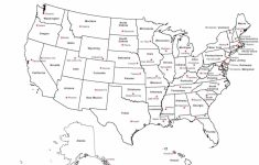 Maps Of The United States With Capitals Save Us Map States Capitals with Printable Usa Map With States And Cities