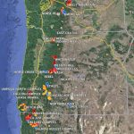 Maps Of Wildfires In The Northwest U.s.   Wildfire Today For Washington State Fire Map 2017