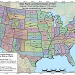 Maps | State Plane Coordinate Systems (Spcs) | Tools | National With Regard To State Plane Coordinate System Map