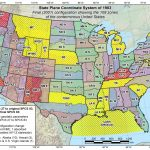 Maps | State Plane Coordinate Systems (Spcs) | Tools | National With State Plane Coordinate System Map
