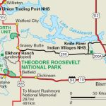 Maps   Theodore Roosevelt National Park (U.s. National Park Service) Throughout South Dakota State Parks Map