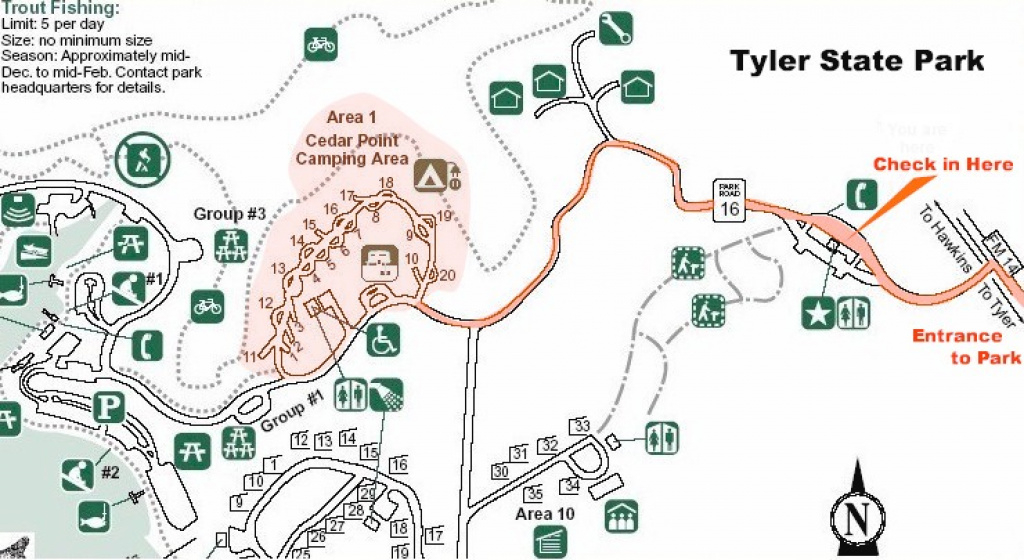 Maps To Tyler State Park Camp Meeting in Pennsylvania State Parks Camping Map