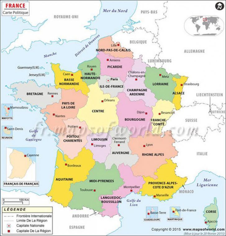 France States Map