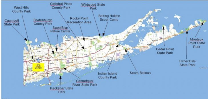 Montauk State Park Campground Map
