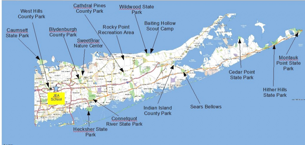 Maps - Troop 106 Huntington (Old Site) inside Montauk State Park Campground Map