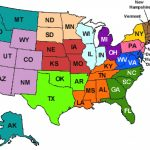 Maps. United States Map With State Names   Collection Of Map Pictures With Regard To Map Of The United States With Names Of Each State