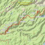 Maps – Western States Endurance Run With Western States 100 Map