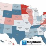 Maptitude Map: Per Capita State Income Taxes Pertaining To Us State Tax Map