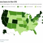 Marijuana Has Been Legalized In Nine States And Washington, Dc   The With Regard To States Where Weed Is Legal Map 2016