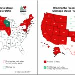 Marriage Equality's Big Year, In 2 Maps   Vox Inside Map Of Gay Marriage States 2014
