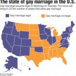 Marriage Rights Gain Momentum – The Raider Voice Regarding Gay Marriage Us States Map