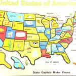 Maryland State Map Printable Best United States Map Puzzle Printable Throughout State Map For Kids