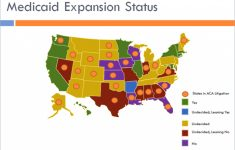 Medicaid Expansion intended for Medicaid Expansion States Map