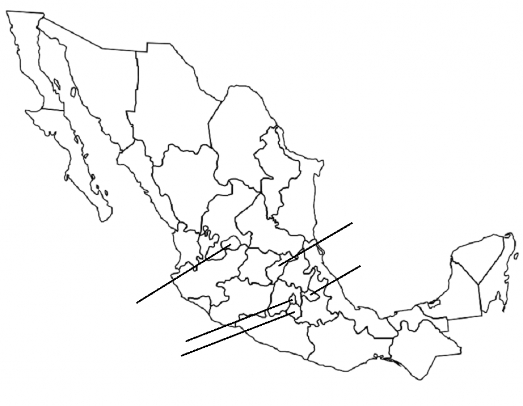 Mexican States (Map Click) Quiz -Archieblok within Mexico States Map Quiz