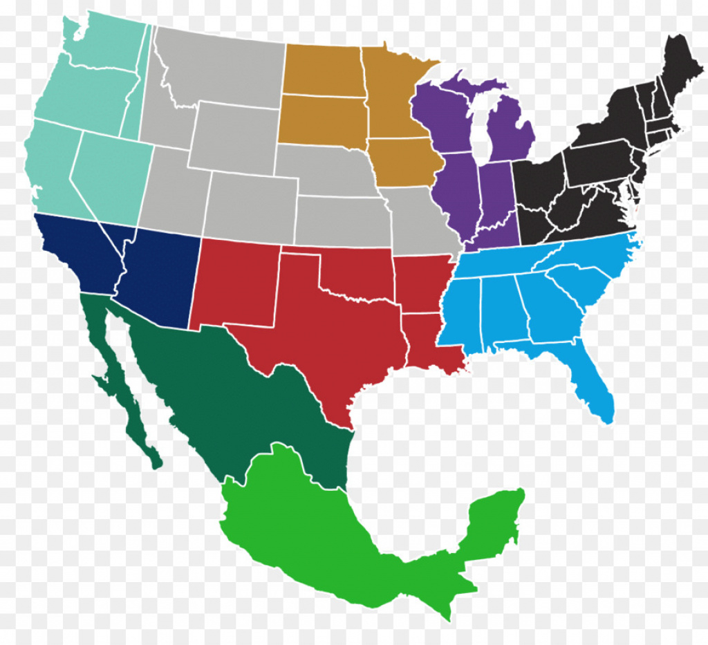 Mexico–United States Border Blank Map American Civil War - Sales for Mexico And The United States Map