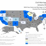 Middling America: And Florida Joins The Same Sex Marriage Fight Intended For Map Of Gay Marriage States 2014