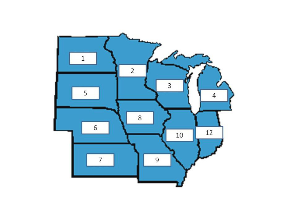 Midwest Map Quiz - Proprofs Quiz in Blank Map Of Midwest States