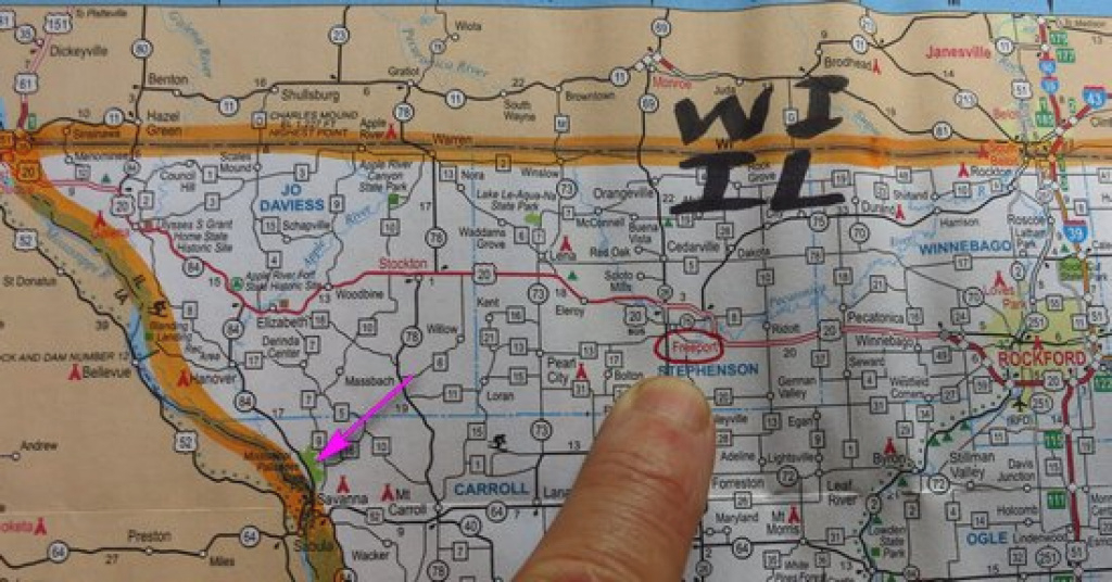 Mike Breiding's Epic Road Trips: 2014 ~Solo Sojourn: Illinois regarding Mississippi Palisades State Park Trail Map