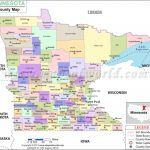 Minnesota County Map | Minnesota Counties In Mn State Map Of Cities