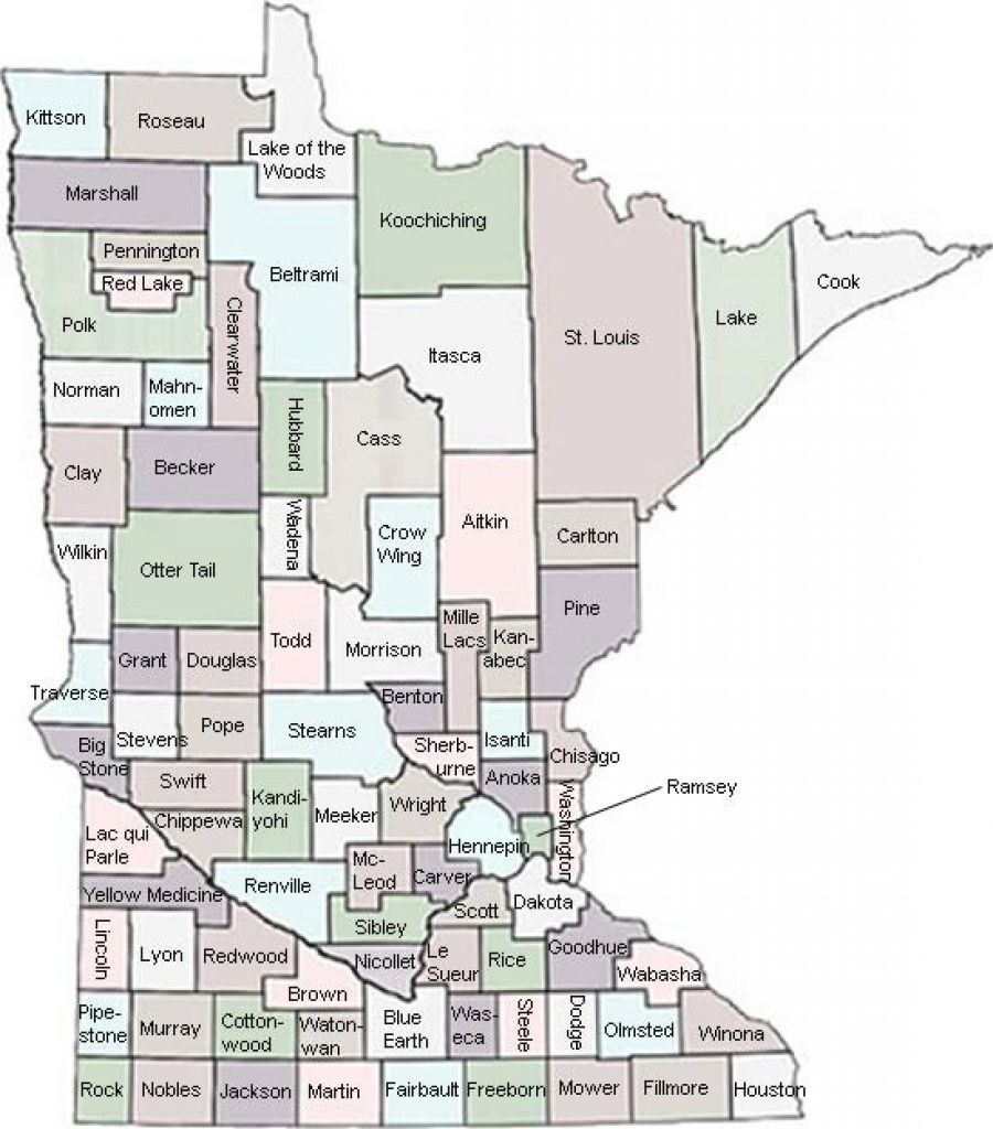Minnesota Ltap | County Weight Information within Minnesota State Map With Counties