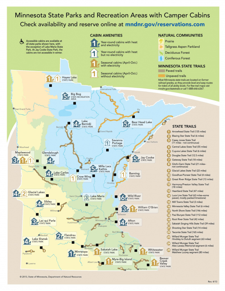 Mn State Park Camper Cabin Map - 2014 Rates For Basic Camper Cabins with regard to Minnesota State Park Camper Cabins Map
