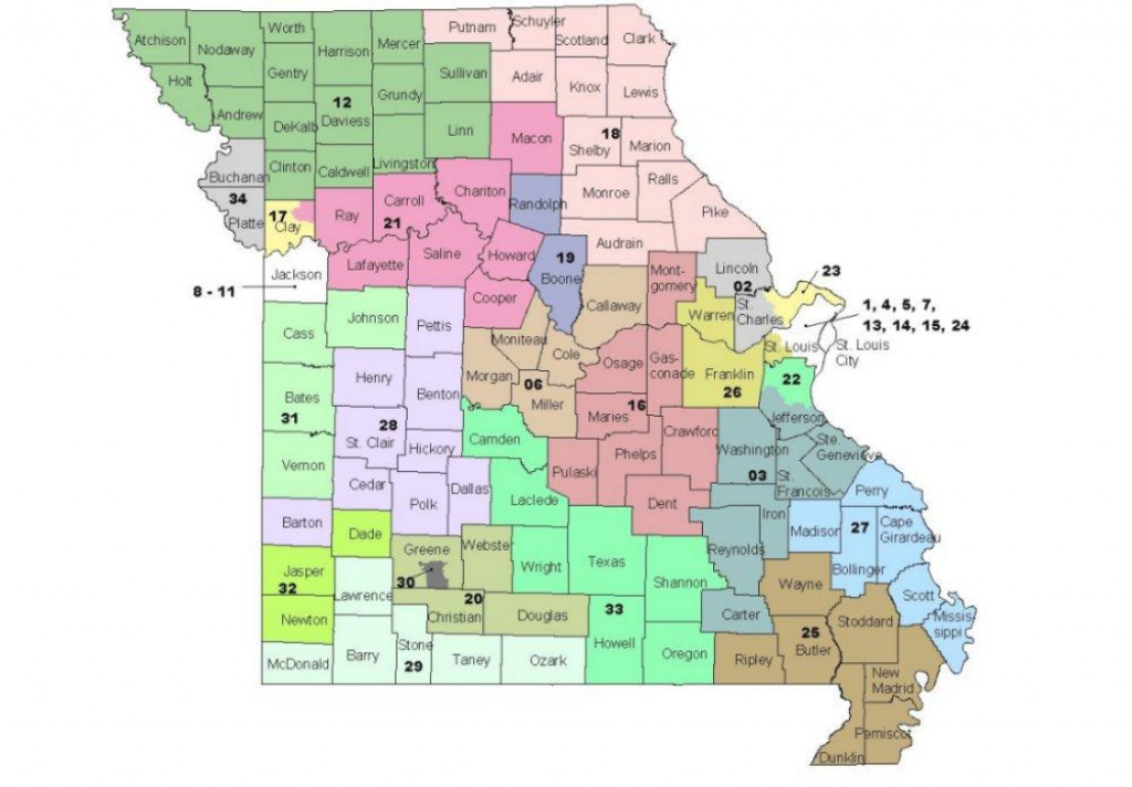 Mo. Senate Redistricting Panel Gives Up, Will Let Judges Redraw Map within Missouri State Senate District Map