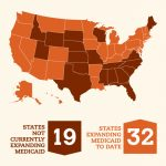 Momentum On Medicaid Expansion | Families Usa Within Medicaid Expansion States Map
