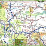 Montana Road Map inside Oregon State Highway Map
