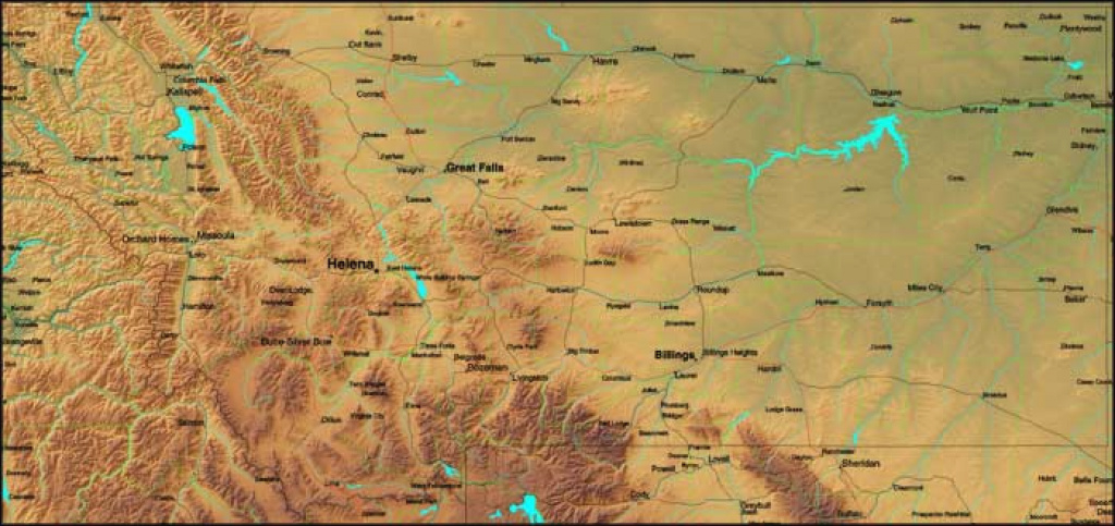 Montana State Parks in Montana State Parks Map