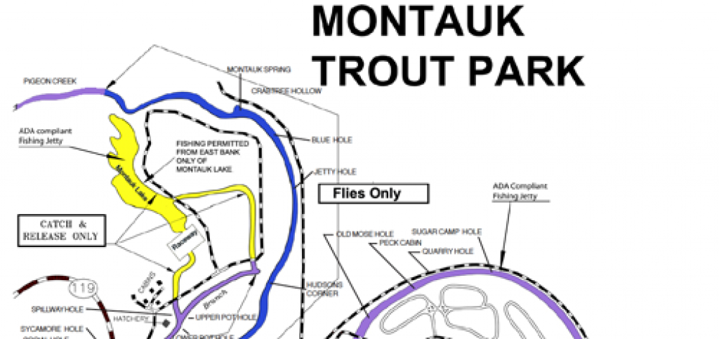 Montauk State Park - Maps - Montauk State Park - Ozarkanglers Forum with regard to Montauk State Park Campground Map