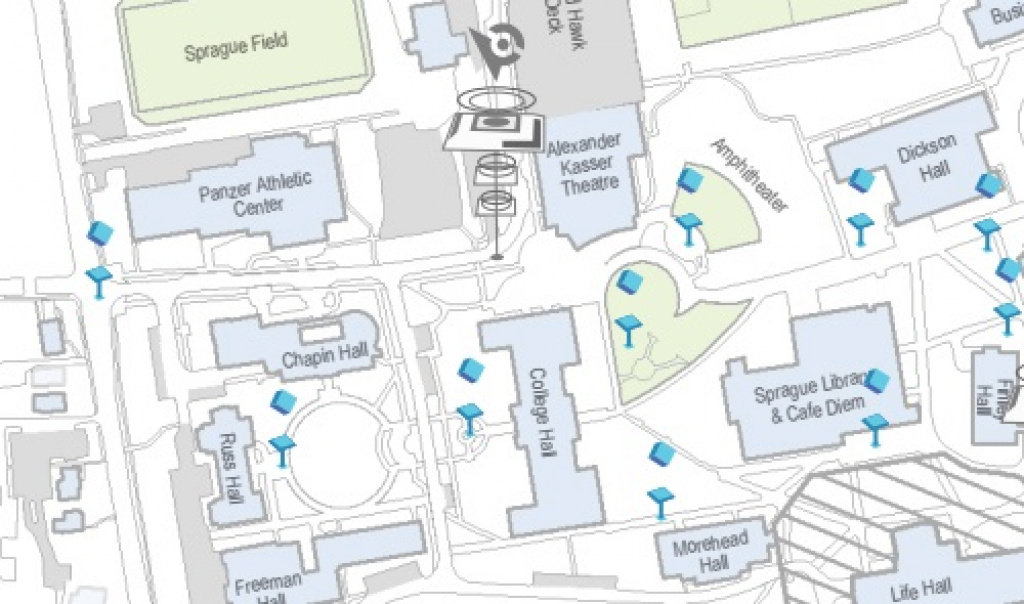 Montclair State Releases Pokemon Go Campus Map - The Montclarion in Montclair State University Campus Map