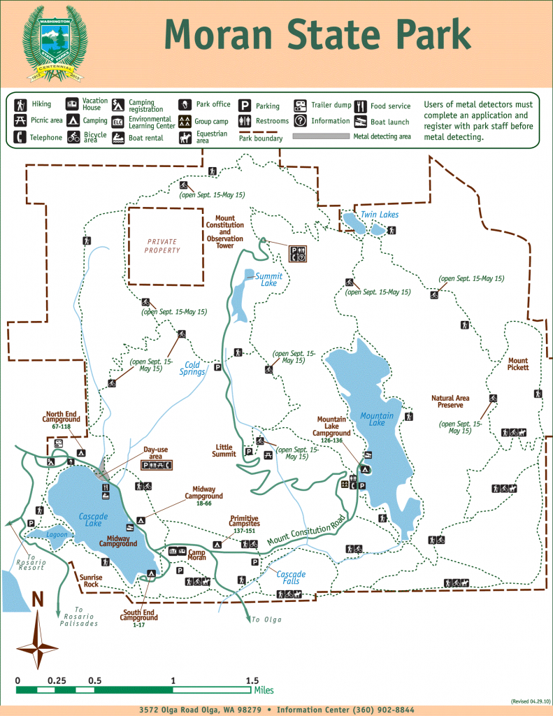 Moran State Park | Park Map | Moran State Park throughout Washington State Campgrounds Map