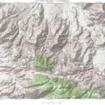 Mountain Biking From Pinyon Mountain To Split Moutain In The Anza For Anza Borrego Desert State Park Map Pdf