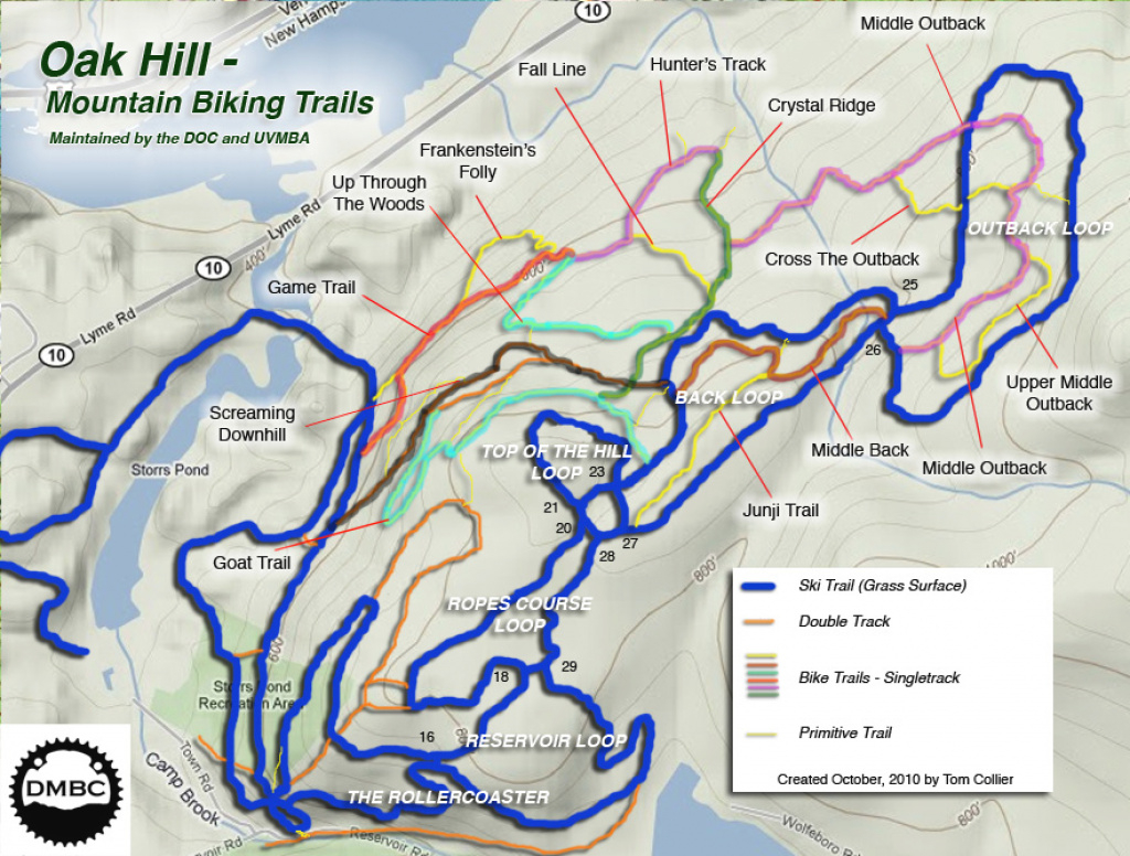 Mountain Biking | Storrs Pond Recreation Area within Oak Mountain State Park Trail Map