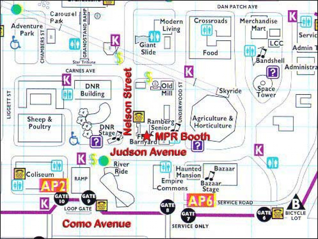 Mpr: Events: 2004 Minnesota State Fair for Mn State Fair Food Map