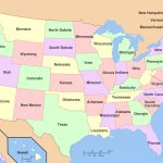 Mr. Thorngren's World Geography And U. S. History Blog » A Political Throughout United States Political Map