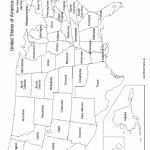 Mrprintables Printable Map Of Usa State Bl Lovely Free Printable Pertaining To Free Printable State Maps