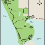 Muskegon & Duck Lake State Parksmaps & Area Guide   Shoreline With Duck Lake State Park Trail Map