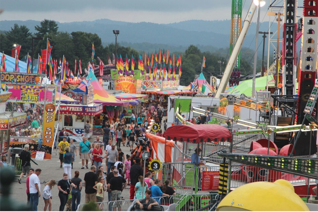 N.c. Mountain State Fair inside Nc State Fair Map 2017