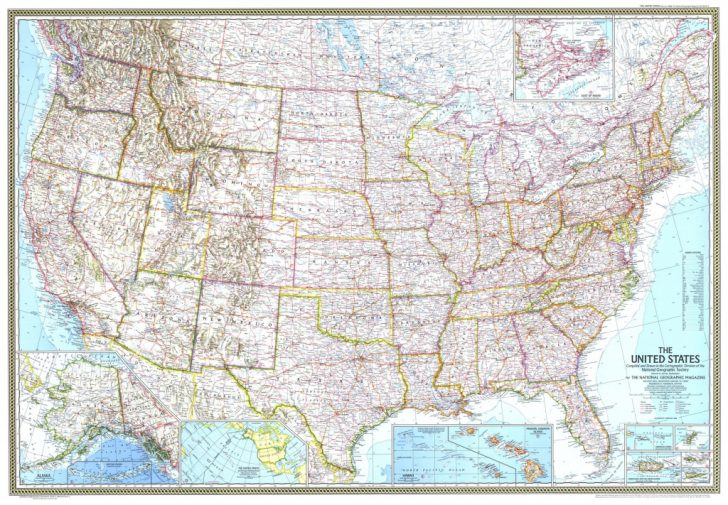 Geographic United States Map