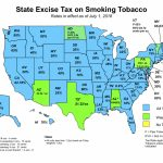 Nato: Tobacco Tax Maps In Tax Rates By State Map